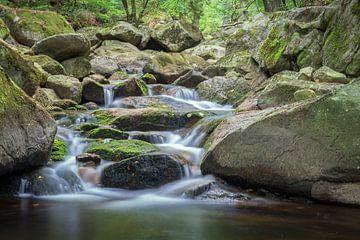 Fluß Ilse im Harz von Tobias Luxberg