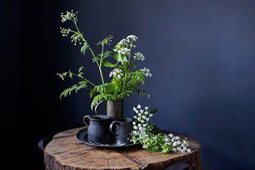 Stilleven met voorjaarsbloemen van Affect Fotografie