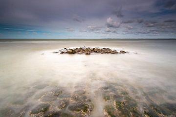 Strand in Zeeland van Gerrit Kosters