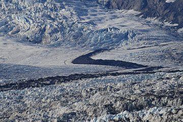 Columbia-gletsjer in Prince William Sound op de westelijke Alaska Chugach Mountains nabij Valdez, Al van Frank Fichtmüller