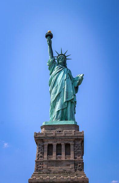 vrijheidsbeeld New York City van Martin Albers Photography