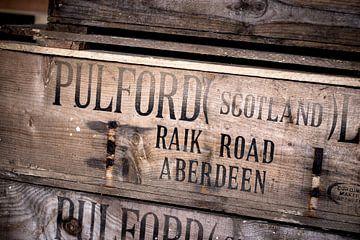 Houten kist van Pulford Scotland LTD von Stephan van Krimpen