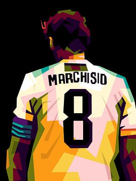 Claudio marchisio WPAP von miru arts