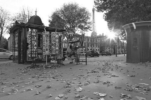 Automne à Paris van