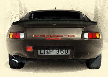 Porsche 928 in antieke kleur van aRi F. Huber