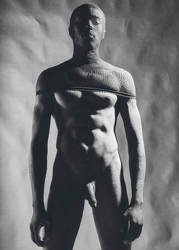 Sehr schöner nackter Mann. Fotografiert in einem perversen Look. #E9432 von william langeveld