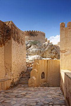 Fort in  Nakl in Oman van Yvonne Smits