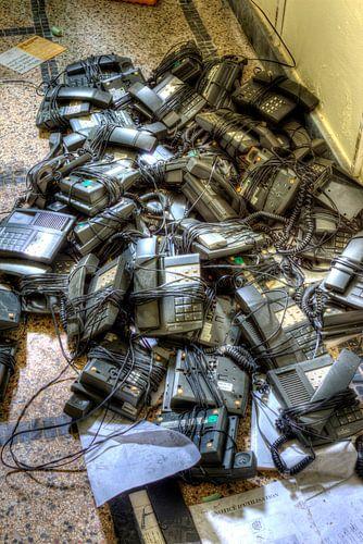 HDR afgedankte telefoons van