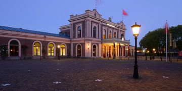 Het Spoorwegmuseum van Donker Utrecht