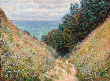 Straße bei La Cavée, Pourville, Claude Monet