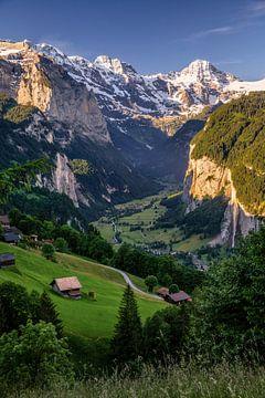 Lauterbrunnen-dal van Achim Thomae