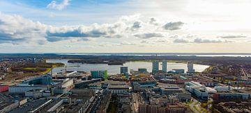 Almere vanuit de lucht von Brian Morgan