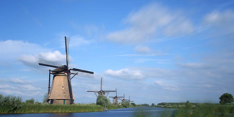 Molens Kinderdijk van Wim Zoeteman