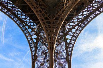 Détail de la Tour Eiffel 1 sur Dennis van de Water