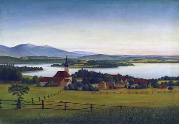 Staffelsee, Georg Schrimpf, 1925 von Atelier Liesjes