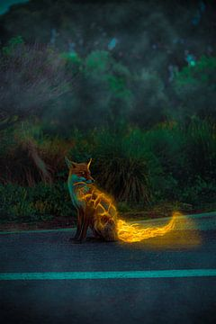Feuerfuchs (FireFox) englisch von TheWorldOfFantasy