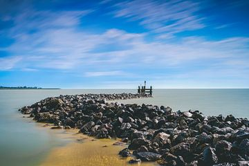 Strekdam van oude vluchthaven van Fotografiecor .nl