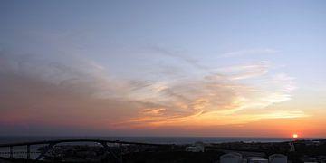 Zonsondergang Curacao van Atelier Liesjes