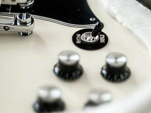 Detail Gibsons SG van Martijn Wit