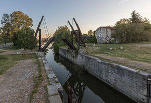 Pont-levis de Vincent van Gogh à Arles, Provence, France