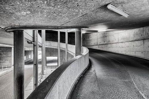 Parkeergarage Willemswerf, Rotterdam van