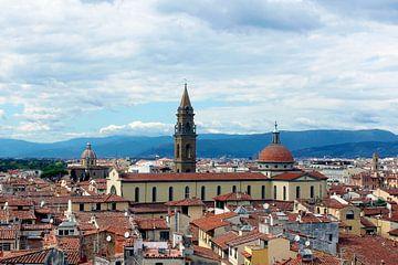 Uitzicht op Florence italië von Nannie van der Wal