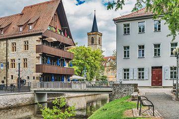In der Altstadt von Erfurt von Gunter Kirsch