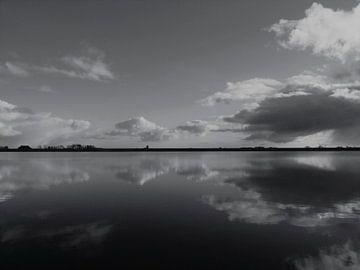 5. Landschap, natuurgebied,  kwelder  Noarderleech. van