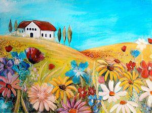 wildflowers in France van Els Fonteine