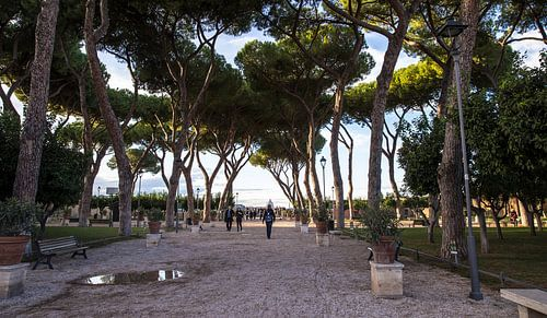Sinaasappeltuin in Rome