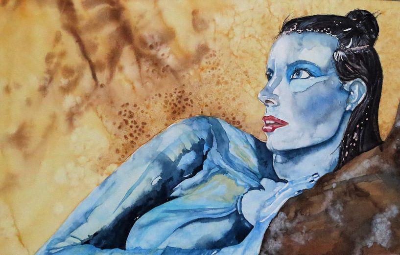 Blue sur Helma van der Zwan