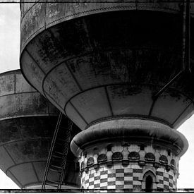 Water supply tanks for steamlocomotivs van Patrick LR Verbeeck