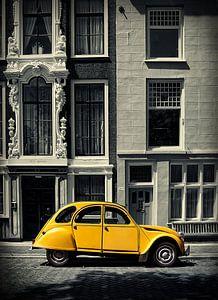 Lelijk eendje Citroën 2cv van