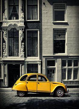 Citroën 2cv sur Peter Halma
