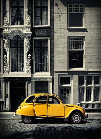 Lelijk eendje Citroën 2cv van Peter Halma