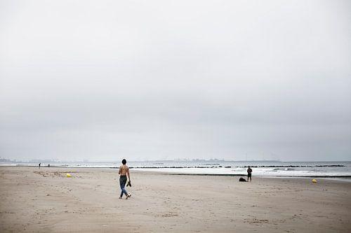 Spelen op het Strand