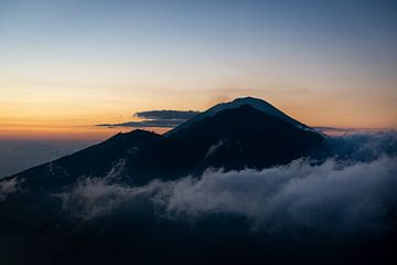 Maunt Batur, Bali, Indonesien von Ellis Peeters