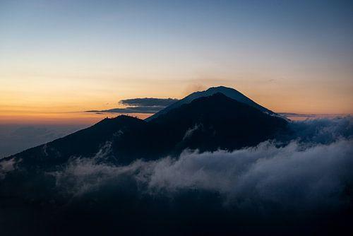 Maunt Batur, bali, Indonesië