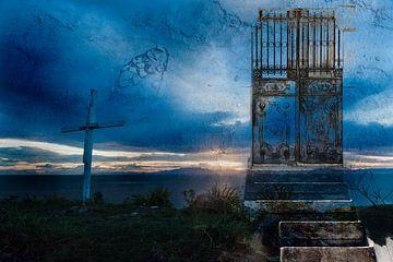 Portale in die Natur 2 - Stairway to Heaven von Bea Blauwendraat