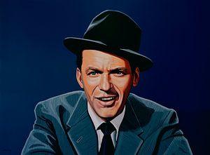 Frank Sinatra schilderij