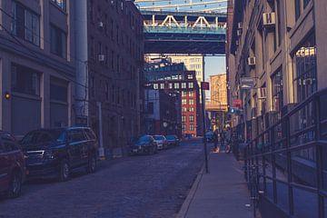 De bruggen in Dumbo New York 02 van FotoDennis.com