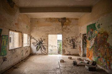 Verlorene Ruine auf Teneriffa von Lukas Fiebiger