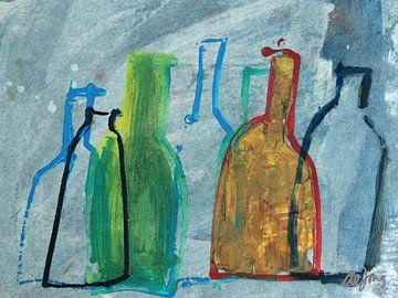 Flessen uit de hemel van Leo de Jong