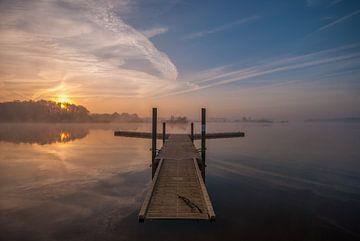 Sunrise at the lake von