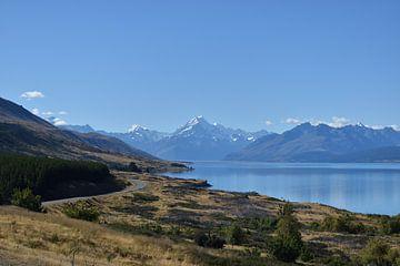 Mt Cook, Nieuw-Zeeland, onvergetelijk landschap. van
