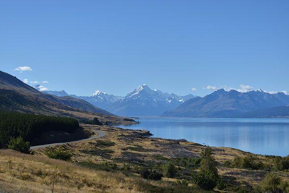 Mt Cook, Nieuw-Zeeland, onvergetelijk landschap.