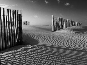 Zand en strand in de winter von
