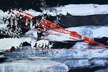 Abstractie op papier zonder grenzen van Jason King