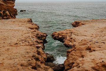 Splijtende rotsen van FotoMariek