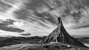 Berg in spanischer Wüste von videomundum